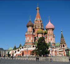 Saint Basil's Cathedral, Red Square