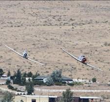 Two T-6 Planes Round Pylon 5