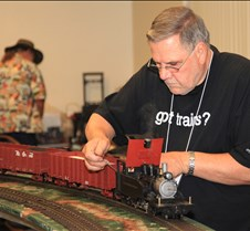 Jim Gabelich & His Coal Fired 2-6-2 Loco