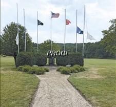 Veterans new walkway