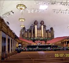 inside Morman Tabernacle