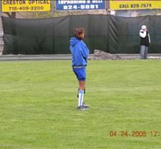 April 24th, 2005 PELHAM BAY SOFTBALL LEAGUE JADES -vs- EMERALDS