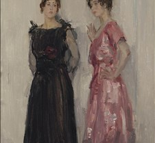378Ippy and Gertie Posing-Isaac Israels-
