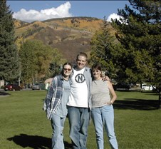 Aspen Trip 2004 Chris, Mom and me all went to see the Aspen trees.  My mother and I were amazed because we had never seen aspens before.