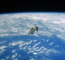 Spacewalking Astronaut NASA earth from s