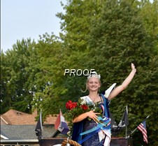 New Queen waves to crowd