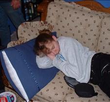 Britt taking a little nap