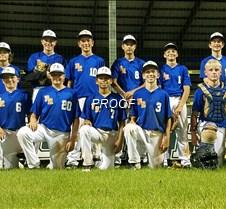 baseball  13 u team picture 2020