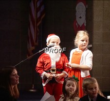 First, Santa and Mrs. Claus