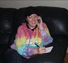 Katie taking calls