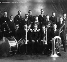 P R Orchestra 1918-20