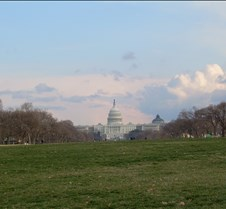 US Capitol Building across Mall