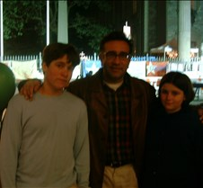 Dylan, Shahab & Roxy at Ground Zero