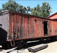 Sierra Railway Aging Box Car