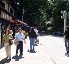 Shops and paths on Takao