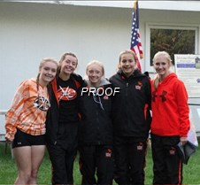 XC girls group