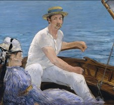 Boating - Eduoard Manet