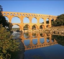 Pont du Gard Roman Empire Aqueduct