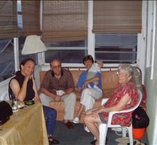 Barbara Bob Kathy and Doris in Cottage 2