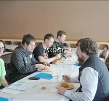 Senior boys lunch