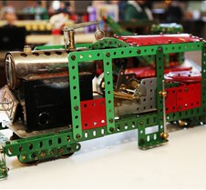Erector Set Live Steam Locomotive