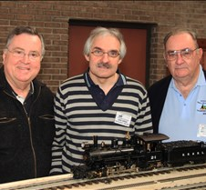 Jim Pitts, John Shawe & Norm Saley