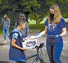 Biking to get diploma
