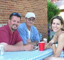 Eric Olesen, Bob Micek, & Debbie Olesen