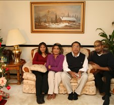 Christmas 2005 - Sanju's Parents