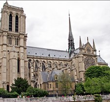 Notre Dame Cathedral - Paris France