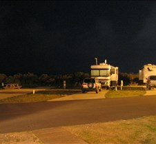 Night time at Camp Hatteras