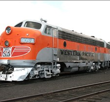 Western Pacific 805-A FP7 Locomotive