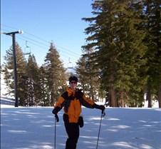 Josh on Skis