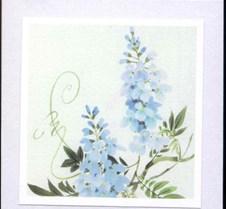 BlueWatercolourFlowers