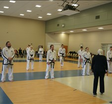 March 14, 2020 Black Belt Testing and Master's Seminar hosted by Great Lakes Global Taekwondo