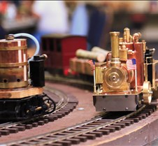 "Barrel Engine & Brass Engine ""Nina"