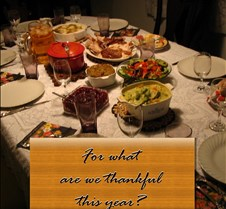 For what are we thankful