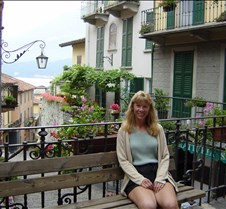 Bellagio Balcony Bench