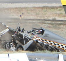 Thunder Mustang #75 Air Race Crash 466a