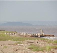 Acadian dike remains
