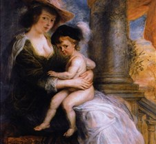 Helena Fourment and Son-Peter Paul Ruben