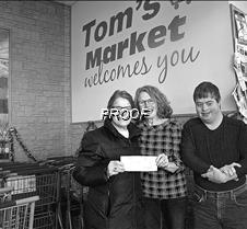 Tom's donation2bw