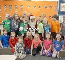 Santa at MAES 5