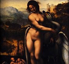 Leda and the Swan - Leonardo da Vinci -