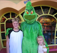 Tyler & Jaxy with Grinch