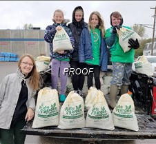 girlscouts fill and sell compost