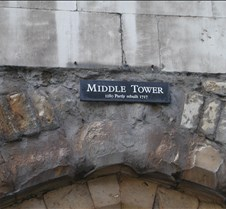 Middle Tower at Tower of London