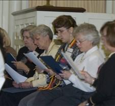 Centenary College 2007 Alumni Singer Rehearsal