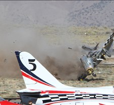 Thunder Mustang #75 Air Race Crash 460a