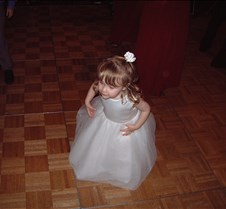 Caitlin on dance floor